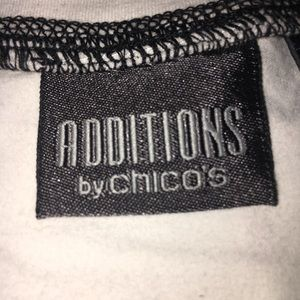 Chico's Tops - Chico's Additions Short Sleeve Medium Top